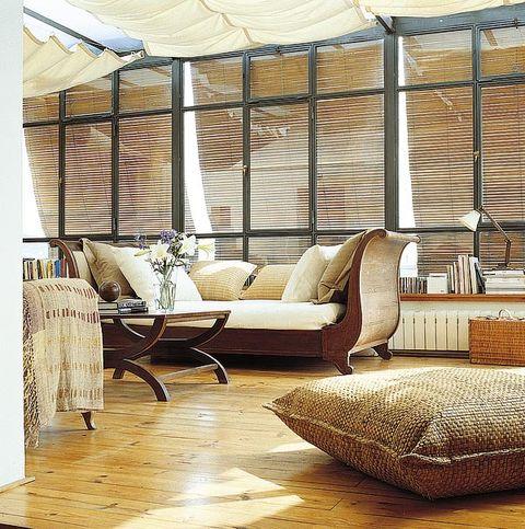 Wood, Brown, Interior design, Room, Floor, Furniture, Flooring, Hardwood, Couch, Wood flooring,
