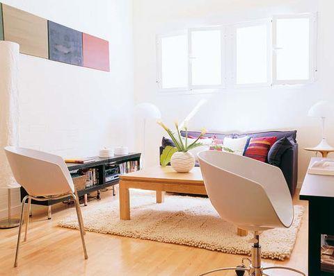 Room, Interior design, Floor, Flooring, Table, Furniture, Wall, Chair, Interior design, Hardwood,