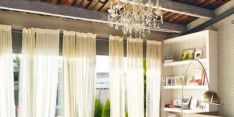 Interior design, Room, Floor, Ceiling, Couch, Interior design, Living room, Table, Home, Light fixture,