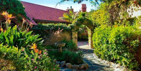 Property, Garden, Natural landscape, House, Real estate, Botany, Yard, Cottage, Botanical garden, Landscape,