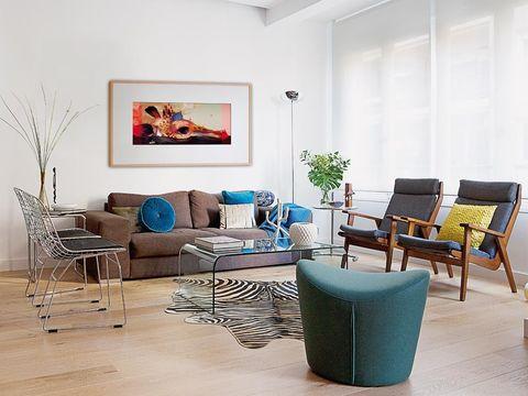 Room, Interior design, Furniture, Floor, Couch, Wall, Living room, Flooring, Interior design, Home,