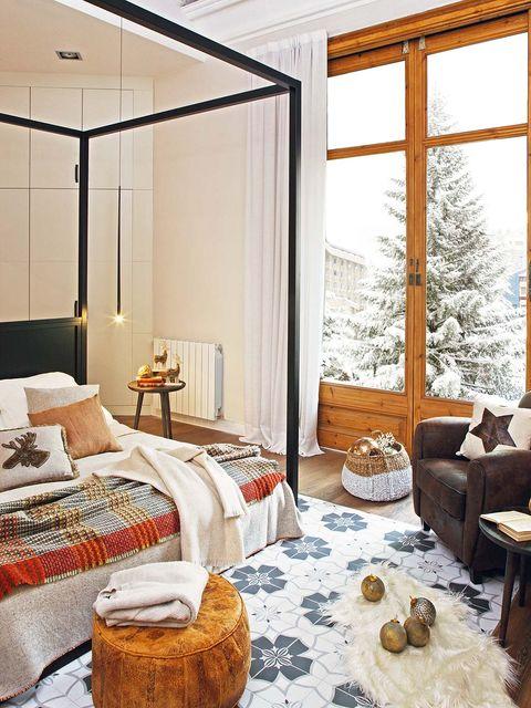 piso moderno con pasado señorial dormitorio principal