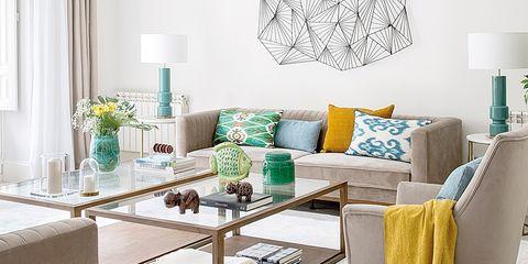Un piso con estructura cl sica renovado y decorado con estilo - Pisos bien decorados ...