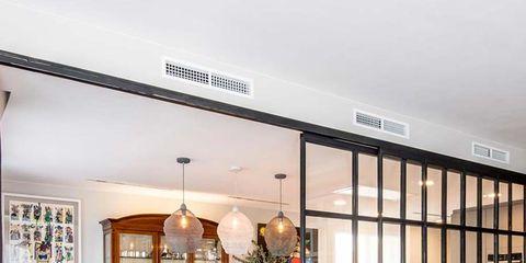 Interior design, Room, Floor, Furniture, Ceiling, Flooring, Interior design, Light fixture, Hardwood, Couch,