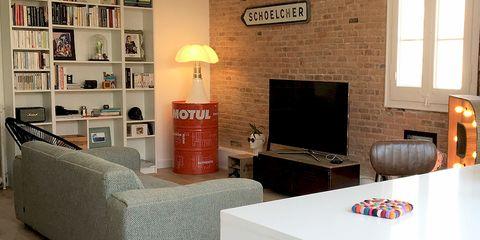 Room, Living room, Interior design, Furniture, Wall, Property, Building, Floor, Table, Design,
