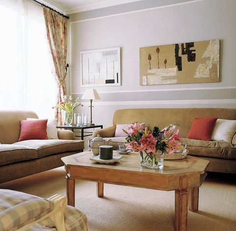Un piso de estilo cl sico renovado for Cortinas estilo clasico