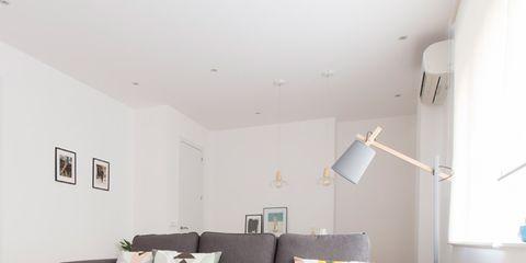 Wood, Room, Interior design, Floor, Yellow, Flooring, Home, Property, Wall, Living room,