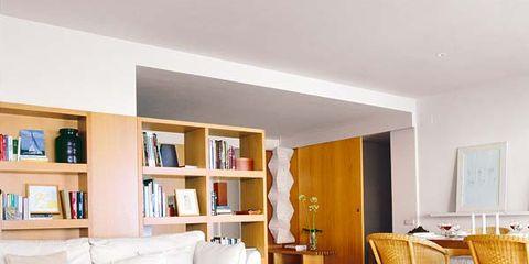 Wood, Room, Interior design, Living room, Shelf, Furniture, Floor, Home, Wall, Flooring,
