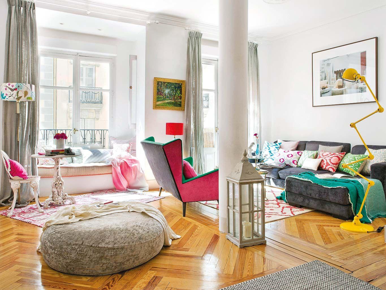 Un piso a todo color