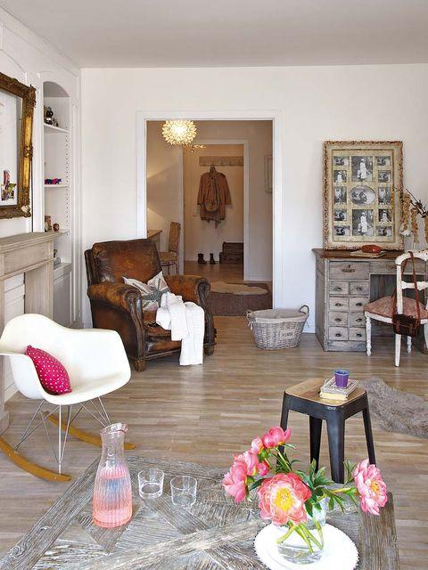Wood, Room, Interior design, Floor, Home, Living room, Furniture, Table, Flooring, Interior design,