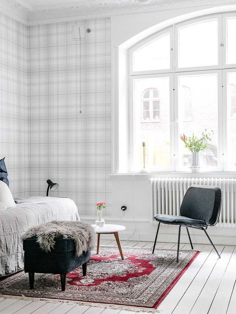 White, Furniture, Room, Living room, Interior design, Chair, Home, Couch, Floor, Coffee table,