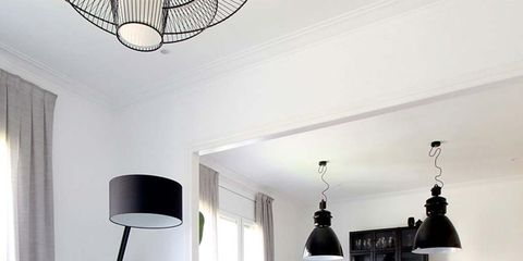 Living room, Room, White, Interior design, Furniture, Property, Ceiling, Coffee table, Table, Building,