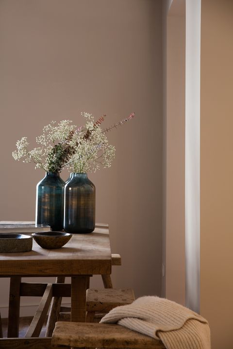 Room, Interior design, Furniture, Tree, Table, Houseplant, Branch, Plant, Still life photography, Flower,