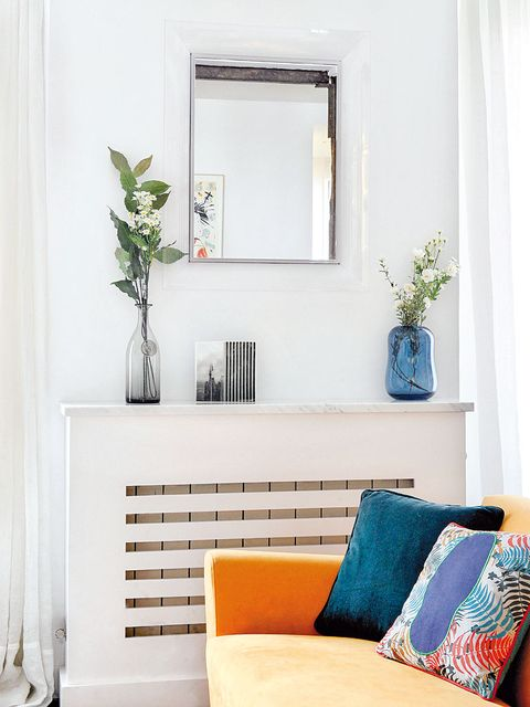 Interior design, Room, Wall, Couch, Interior design, Home, Living room, Flowerpot, Turquoise, Fixture,