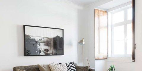 Room, Wood, Interior design, Floor, Living room, Furniture, Flooring, Table, Home, Wall,
