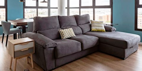Wood, Blue, Floor, Room, Interior design, Brown, Flooring, Hardwood, Living room, Wall,