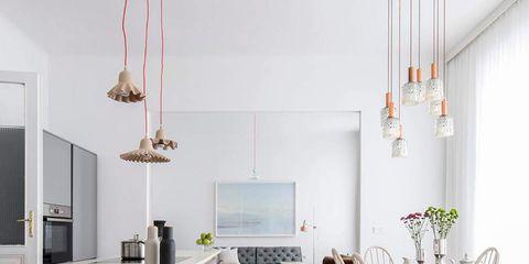 Furniture, Room, Floor, Table, Interior design, Dining room, Property, Flooring, Laminate flooring, Tile,