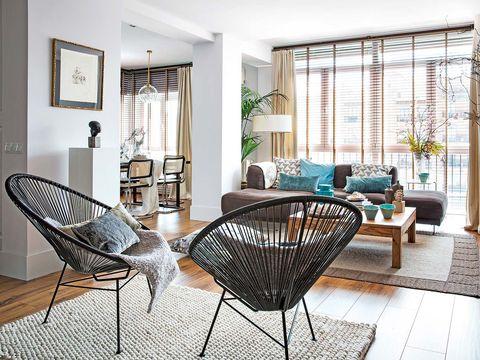 Room, Interior design, Floor, Furniture, Table, Flooring, Home, Interior design, Real estate, Living room,