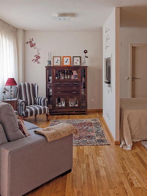 Diez pisos y apartamentos de 50 metros o menos for Distribucion apartamentos pequenos