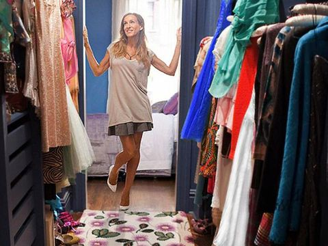 Room, Textile, Pink, Purple, Dress, Fashion, Linens, Magenta, Clothes hanger, One-piece garment,