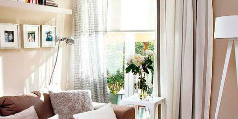 Room, Interior design, Home, Textile, Wall, Interior design, Living room, Furniture, Floor, Lamp,