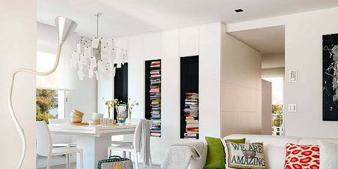 Room, Interior design, Floor, Living room, Home, Flooring, Wall, White, Couch, Furniture,