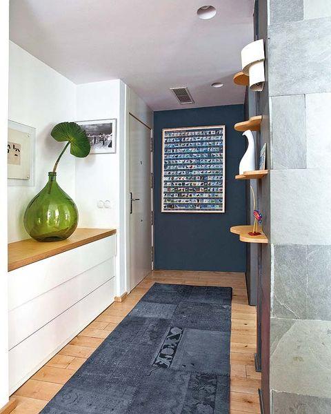 Floor, Flooring, Room, Interior design, Wall, Fixture, Door, Tile, Plywood, Light fixture,