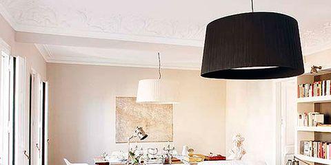 Room, Interior design, Floor, Home, Wall, Furniture, Living room, Flooring, Interior design, Lampshade,