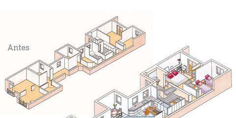 Line, Illustration, Plan, Drawing,