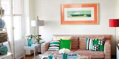 Room, Interior design, Green, Wood, Home, Living room, Furniture, Teal, Turquoise, Flooring,