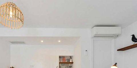 Room, Interior design, Wood, Wall, Floor, Furniture, Table, Ceiling, Light fixture, Interior design,