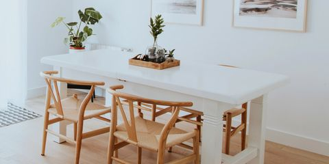 Furniture, Room, Dining room, Table, Property, Interior design, Floor, Kitchen & dining room table, Chair, House,