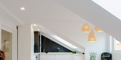 Room, Property, Interior design, Furniture, Ceiling, Floor, House, Building, Living room, Table,