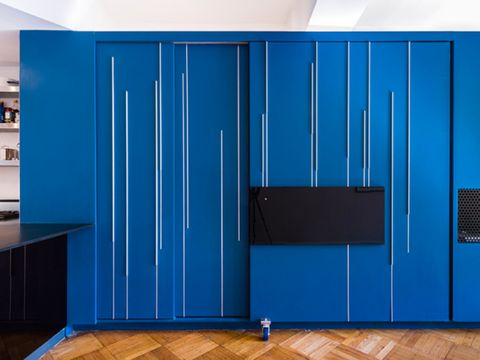 Wood, Blue, Floor, Flooring, Hardwood, Wood flooring, Laminate flooring, Wall, Wood stain, Electric blue,