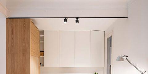 Wood, Floor, Flooring, Interior design, Property, Room, Ceiling, Light fixture, Fixture, Interior design,