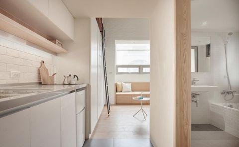 Floor, Room, Interior design, Flooring, Property, Plumbing fixture, Wall, Ceiling, Interior design, Real estate,