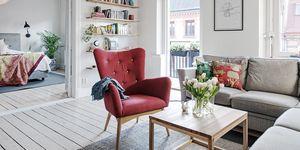 Un piso nórdico y optimista