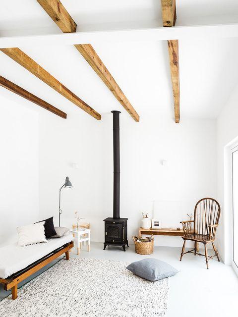 Wood, Room, Interior design, Wall, Furniture, Ceiling, Floor, Hardwood, Home, Interior design,