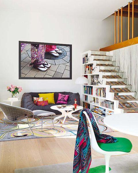 Un piso moderno y actual