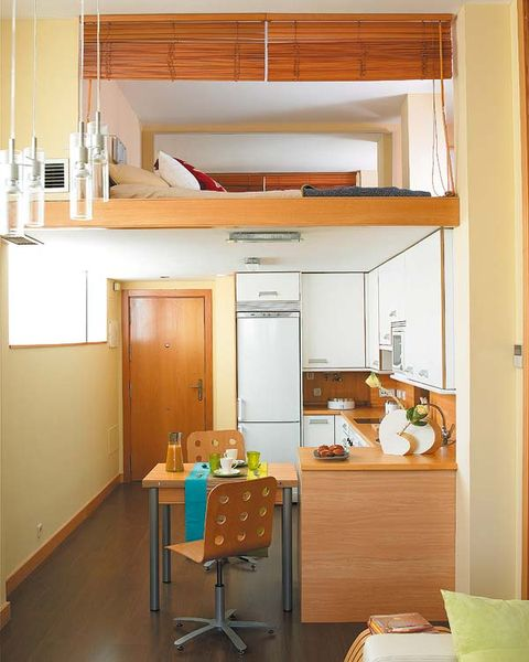 Room, Wood, Interior design, Cupboard, Orange, Cabinetry, Fixture, Interior design, Light fixture, Kitchen,