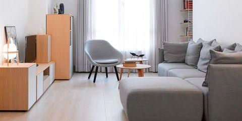 piso moderno para una familia