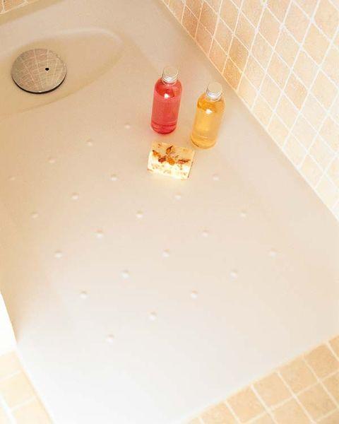 Liquid, Fluid, Floor, Flooring, Plastic bottle, Plastic, Tile, Tile flooring, Coquelicot, Bottle,