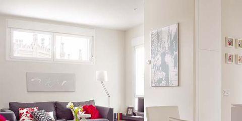 Room, Interior design, Wall, Living room, Floor, Interior design, Couch, Furniture, Flooring, Home,