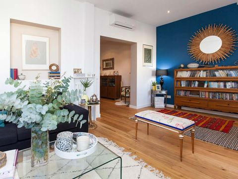 Un piso cosmopolita y personal
