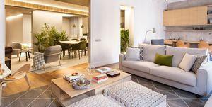 Un piso en Barcelona para 10 personas