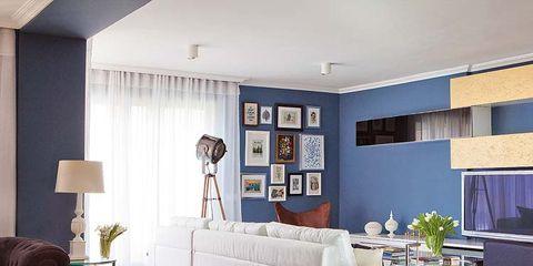 Una Casavestida De Azul - Vestir-casas