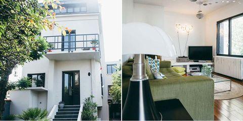 Green, Interior design, Room, Property, Home, Real estate, Wall, Interior design, Fixture, House,