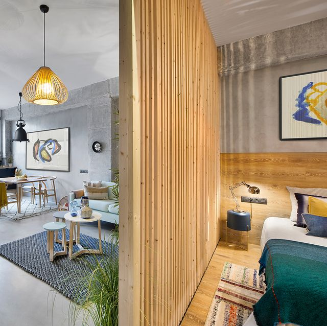 apartamento 46 m dormitorio y salón