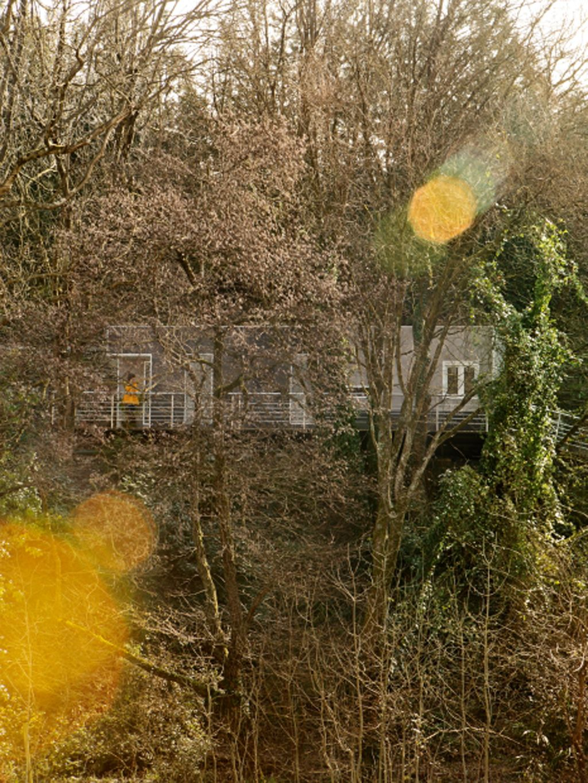 Una mini casa entre rboles