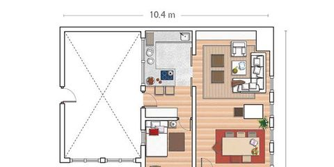 Plan, Line, Schematic, Parallel, Tan, Rectangle, Technical drawing, Drawing, Floor plan, Diagram,